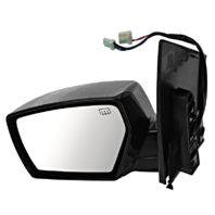 Fits 04-09 Quest Left Driver Power Mirror Smooth W/Heat/Puddle Lamp No Memory
