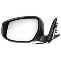 Fits 13-15 Altima Sedan Left Driver Unpainted Power Mirror With Signal And Heat