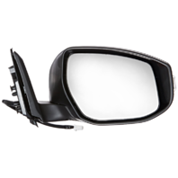 Fits 13-15 Nissan Altima Sedan Right Pass Unpainted Power Mirror W/Signal/Heat
