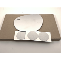 Left Driver Mirror Glass Lens w/Blindspot Detection Icon for 16-18 Bk Envision