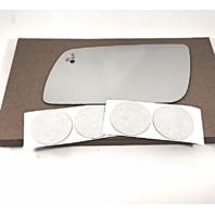 Left Driver Side Mirror Glass Lens for 13-17 Ford Flex w/BlindSpot Detect Icon