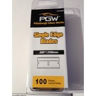 (50) 100 Packs Single Edge Razor Blades = 5000 individual blades (Case)