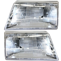 Fits 98-00 Mazda Pickup Left & Right Headlamp Assemblies - pair