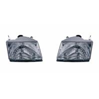 Fits 01-10 Mazda Pickup Left & Right Headlamp Assemblies - pair