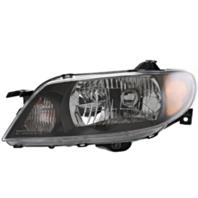 Fits 01-03 Mazda Protege Sedan Left Driver Headlamp Assembly w/Metal Coat Bezel