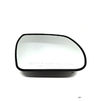 Fits 07-12 Veracruz Heated Right Passenger Convex Mirror Glass with Rear Backing Plate. Models without  Auto Dimming