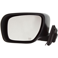Fits 06-10 Mazda5 Left Driver Mirror Power Smooth Black With Heat