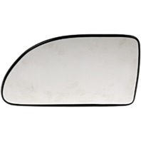 Fits 05-09 Chevrolet Equinox Left Driver Mirror Glass With Rear Backing Plate