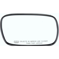99-01 Cherokee Right Pass Convex Heated Mirror Glass w/ Rear Holder