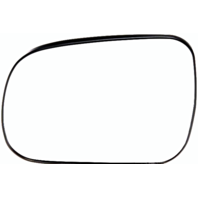 Left Driver Side Mirror Glass w/ Rear Holder for 04-10 Toyota Sienna   non Auto Dimming