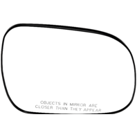 Right Passenger Side Convex Mirror Glass w/ Rear Holder for 04-10 Toyota Sienna