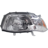 Fits 08-10 Toyota Highlander (except Hybrid) Right Passenger Headlamp Assy Clear Lens
