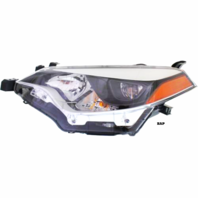 FITS 14-16 TOYOTA COROLLA LEFT DRIVER HEADLAMP ASSEMBLY