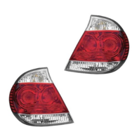 FITS 05-06 TOYOTA CAMRY LEFT & RIGHT SET TAIL LAMP ASSEMBLES With CHROME TRIM