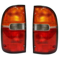FITS 95-00 TOYOTA TACOMA LEFT & RIGHT SET TAIL LAMP ASSEMBLIES