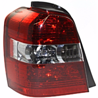 FITS 04-07 TOYOTA HIGHLANDER LEFT DRIVER TAIL LAMP UNIT ASSEMBLY