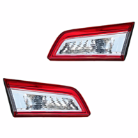 FITS 12-14 TOYOTA CAMRY LEFT & RIGHT SET TAIL LAMP ASSEMBLES LID MOUNTED