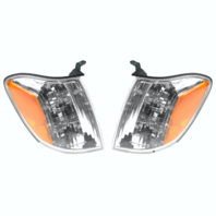 Left & Right Signal Marker Light Assems Set Fits 05-06 Tundra 2 Door & Extended
