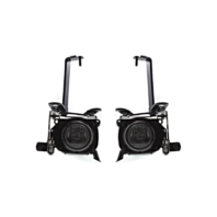 Fits 99-02 Toy 4Runner Left & Right Fog Lamp Assembly (factory installed) - pair