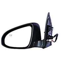 Fits 14-17 Toy Corolla Left Driver Power Mirror Assm Heated