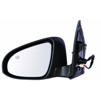 Fits 14-17 Toy Corolla Left Driver Power Mirror Assm Heated w/ Signal