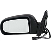 Fits 98-03 Toyota Sienna Left Driver Mirror Power With Heat Non-Painted Black