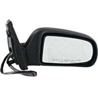 Fits 98-03 Toyota Sienna Right Passenger Mirror Power With Heat Unpainted Black