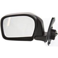 Fits 00 Toyota Tacoma Left Driver Mirror Manual Black Folding Unpainted