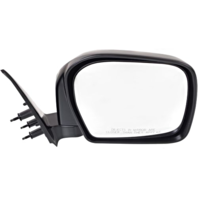 Fits 00 Toyota Tacoma Right Passenger Mirror Manual Black Folding Unpainted