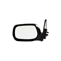 Fits 01-05 Toyota Rav4 Left Driver Mirror Manual Non-Painted Black