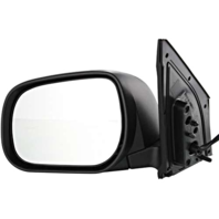 Fits 06-08 Toyota Rav4 Left Driver Power Mirror Non-Painted Black