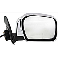 Fits 12-15 Toyota Tacoma Right Passenger Power Mirror Chrome With Signal No Heat