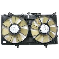 Fits 02-03 Lex ES300; 04-06 Lex ES330 A/C Condenser Dual Fan Assembly