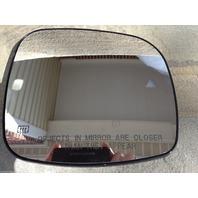 Fits11-13 Grd Caravan T&C Right Pass Glass w/ Heat Blind Spot Detect Back Plate