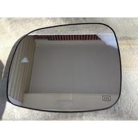 Fits 11-13 Grd Caravan T&C Left Mirror Glass w/Heat Blind Spot Detect Back Plate