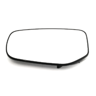 Fits 13-16 Dodge Dart Left Driver Mirror Glass w/Rear Holder non Folding