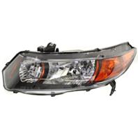 Fits 06-09 Honda Civic Coupe 2.0L Left Driver Headlamp Assembly