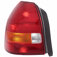 Fits 96-00 Honda Civic Hatchback Left Driver Tail Lamp Assembly Amber/Red