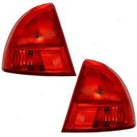 Fits 01-02 Honda Civic Sedan TL (Outer) Left & Right Set Tail Lamps Assemblies