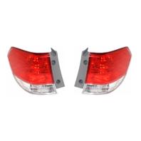 Fits 08-10 Honda Odyssey Left & Right Set Tail Lamp Assemblies Quarter Mounted