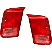 Fits 01-02 Honda Civic Sedan Left & Right Set Tail Lamp Assemblies Lid Mounted