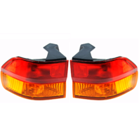 Fits 02-04 Honda Odyssey Left & Right Set Tail Lamp Assemblies Quarter Mounted