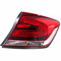 Fits 13-15 Honda Civic Sedan EXC Hybrid Right Pass Tail Lamp Quarter Mounted