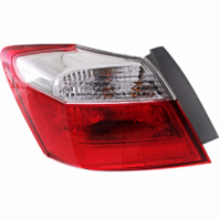 Fits 13-15 Honda Accord Sedan Left Driver Tail Lamp Quarter Mounted without Led