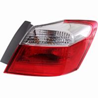 Fits 13-15 Honda Accord Sedan Right Pass Tail Lamp Quarter Mounted without LED