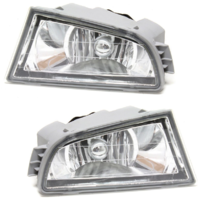 Fits 01-03 Acura MDX Left & Right Fog Lamp Assemblies (Pair)
