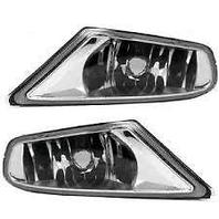 Fits 05-07 Honda Odyssey L&R Fog Lamp Assys clear lens w/o chrome  pair