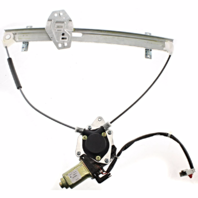 Fits 01-05 Hd Civic Coupe Power Window Regulator with Motor Front Left Driver