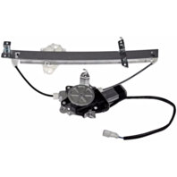 Fits 07-08 Hd Fit Power Window Regulator with Motor Rear Left Driver