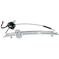 Fits 01-02 Acura MDX Left Driver Power Window Regulator W/Motor 4 Pin Connector